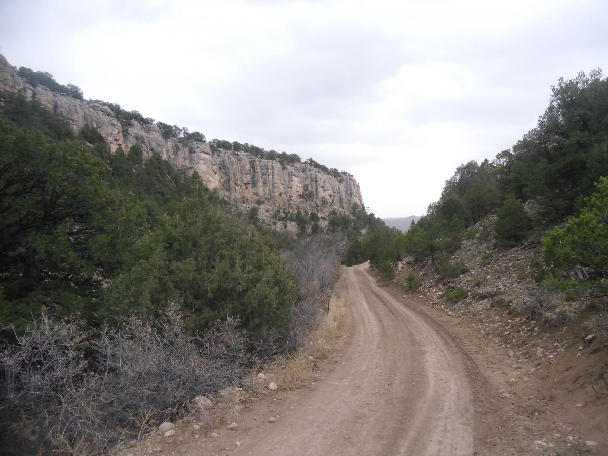 Shelf Road Recreation Area