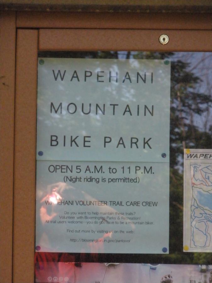 Wapehani MTB Park