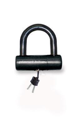 planet bike mini u lock lock reviews mountain bike reviews singletracks com. Black Bedroom Furniture Sets. Home Design Ideas