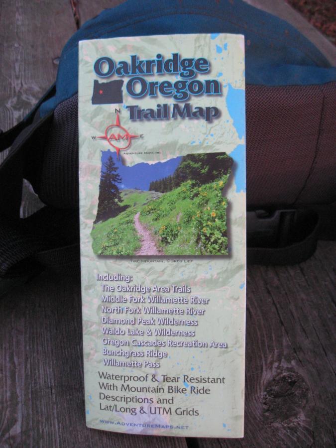Goodman Creek Mountain Bike Trail in Oakridge Oregon