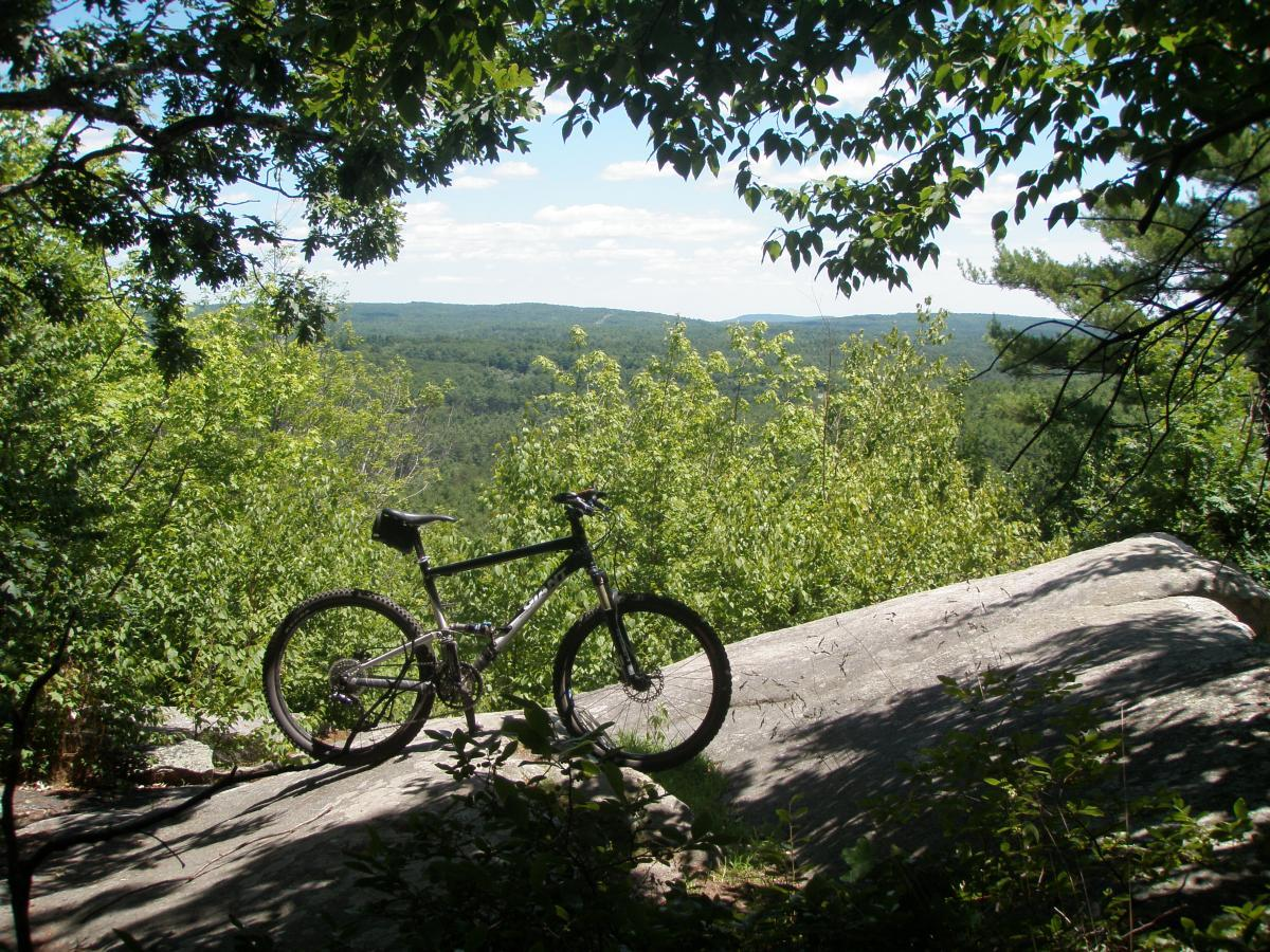 Bear Brook Mountain Bike Trail In Allenstown New Hampshire