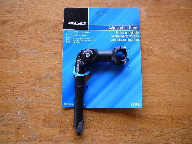 XLC Adjustable Alloy 22.2 Quill Stem 80mm