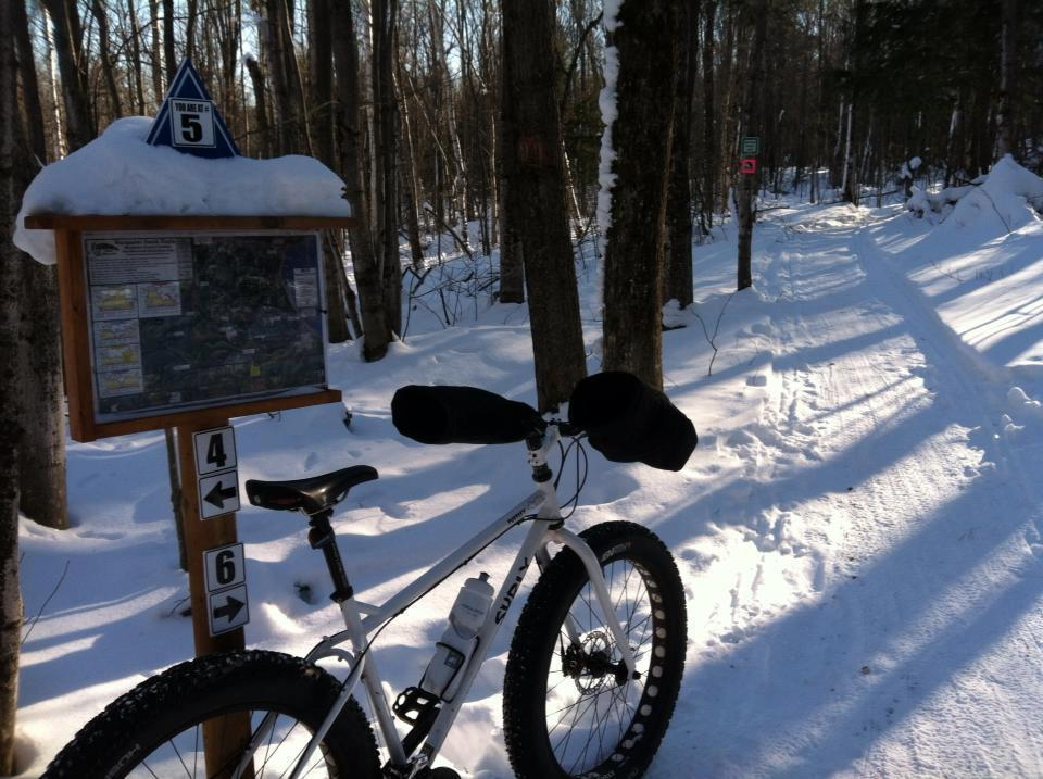 Marquette SBR (snow bike route) North plus South