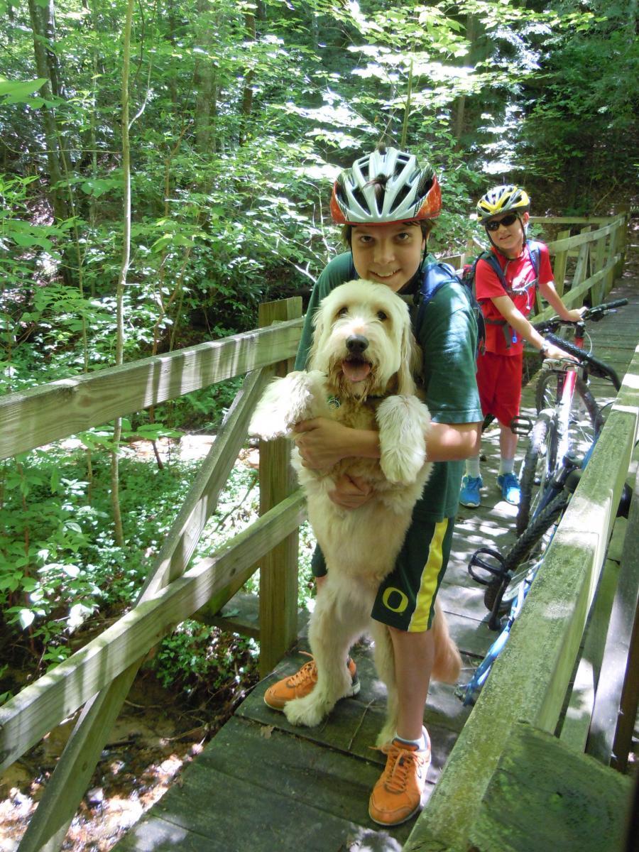 John Muir Trail along Chestnut RIdge