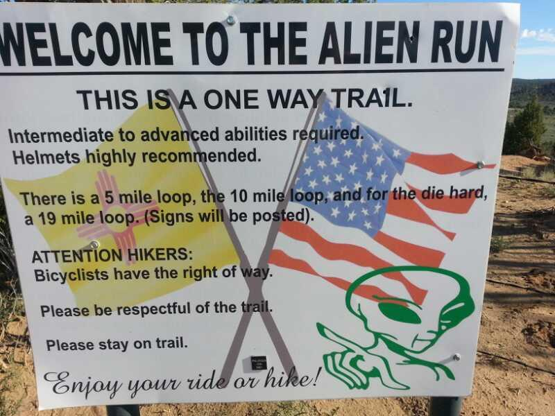 Alien Run Trail