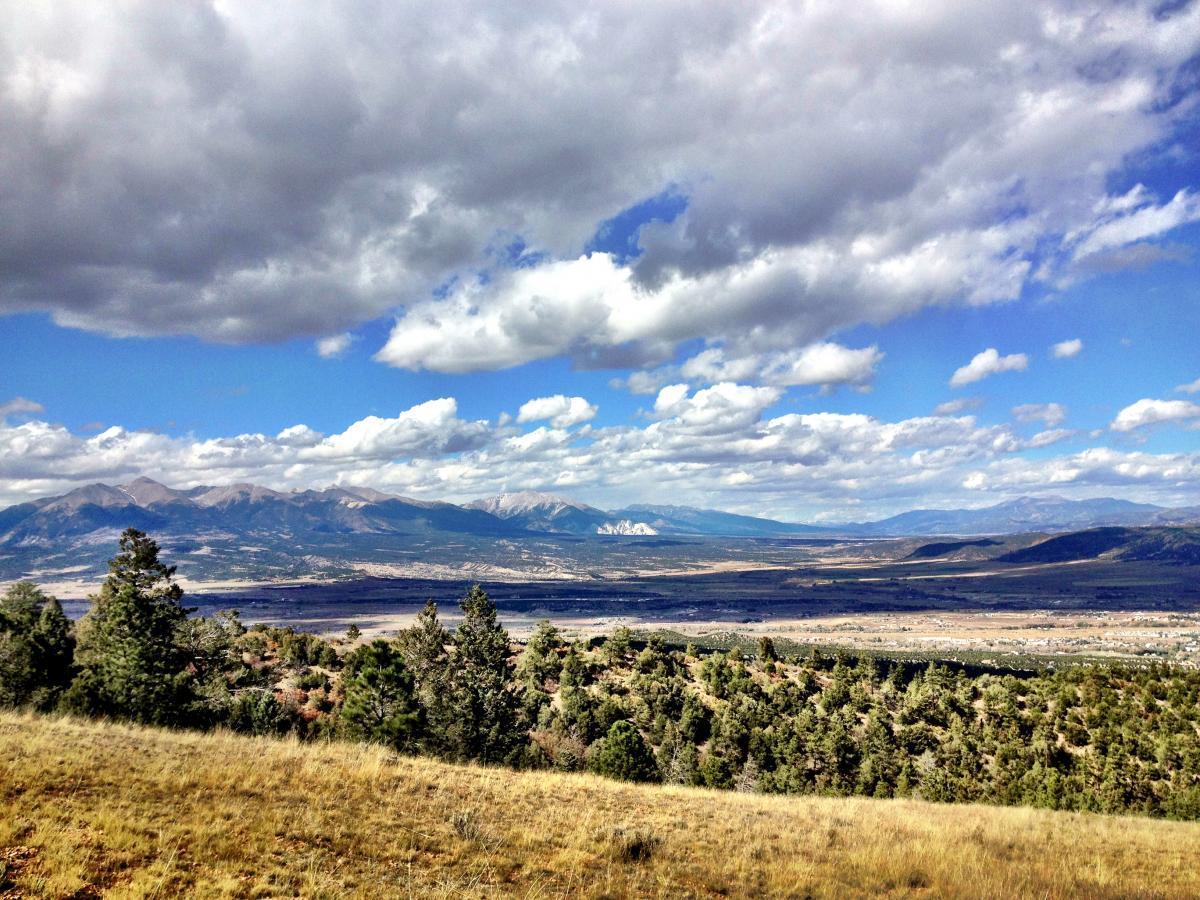 Rainbow Trail: Methodist Mountain Thd to Bear Creek Thd