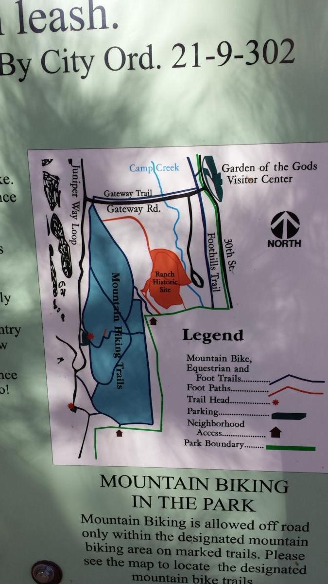 Garden of the Gods: Ute Trail