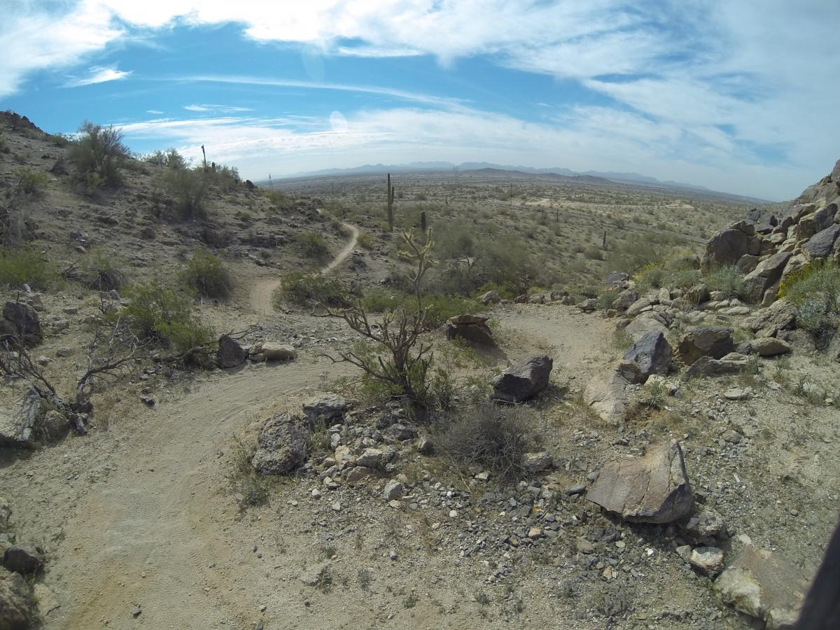 Fantasy Island North Singletrack (FINS)