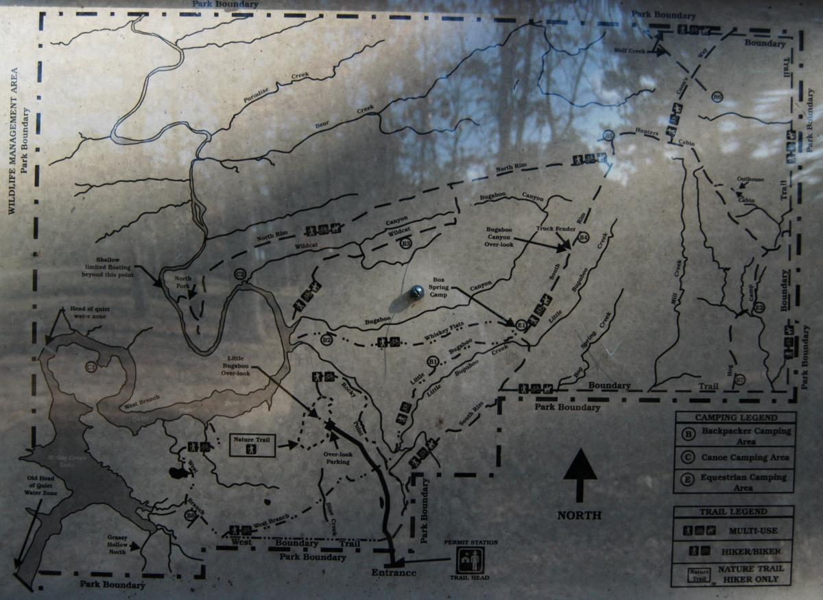 south mountain state park trail map with Mcgee Creek State Park Nsra on North Peak At Mt Diablo State Park Ca also Badlands l furthermore Rocky Mountain National Park Mt Ida likewise Chattahoochee River Trails Atlanta Top 10 besides 7305.