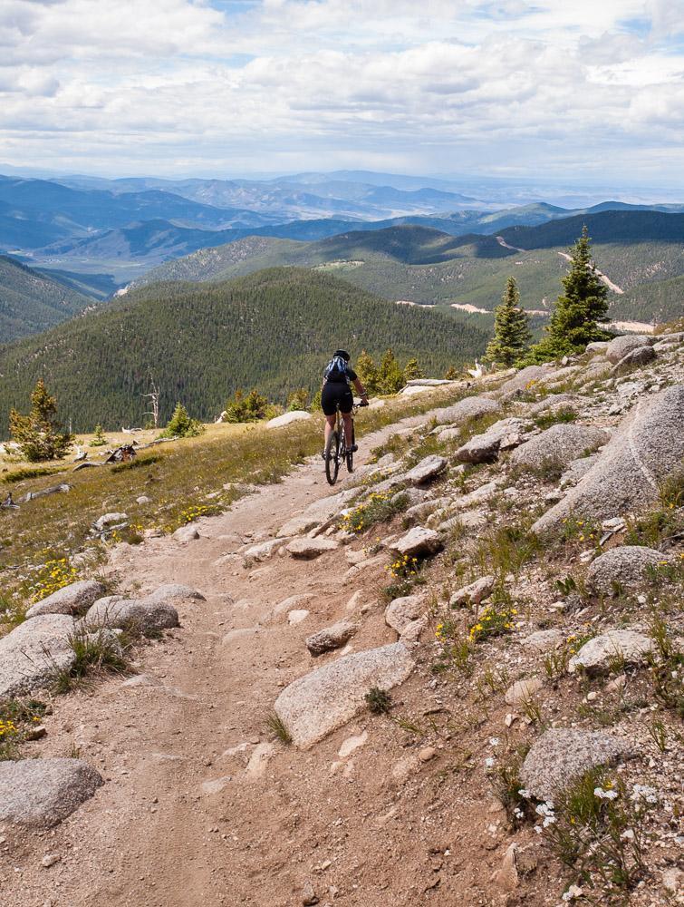 Monarch Crest Trail Mountain Bike Trail in Salida ...