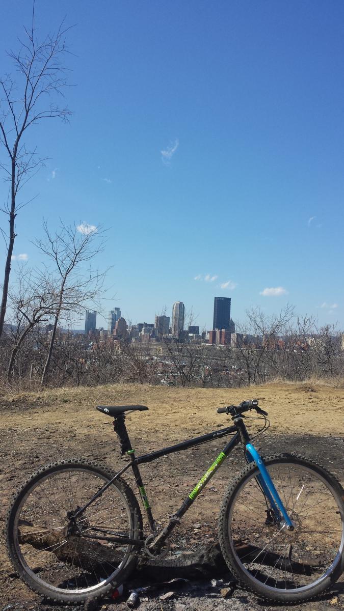 Incline Trail Mountain Bike Trail In Pittsburgh