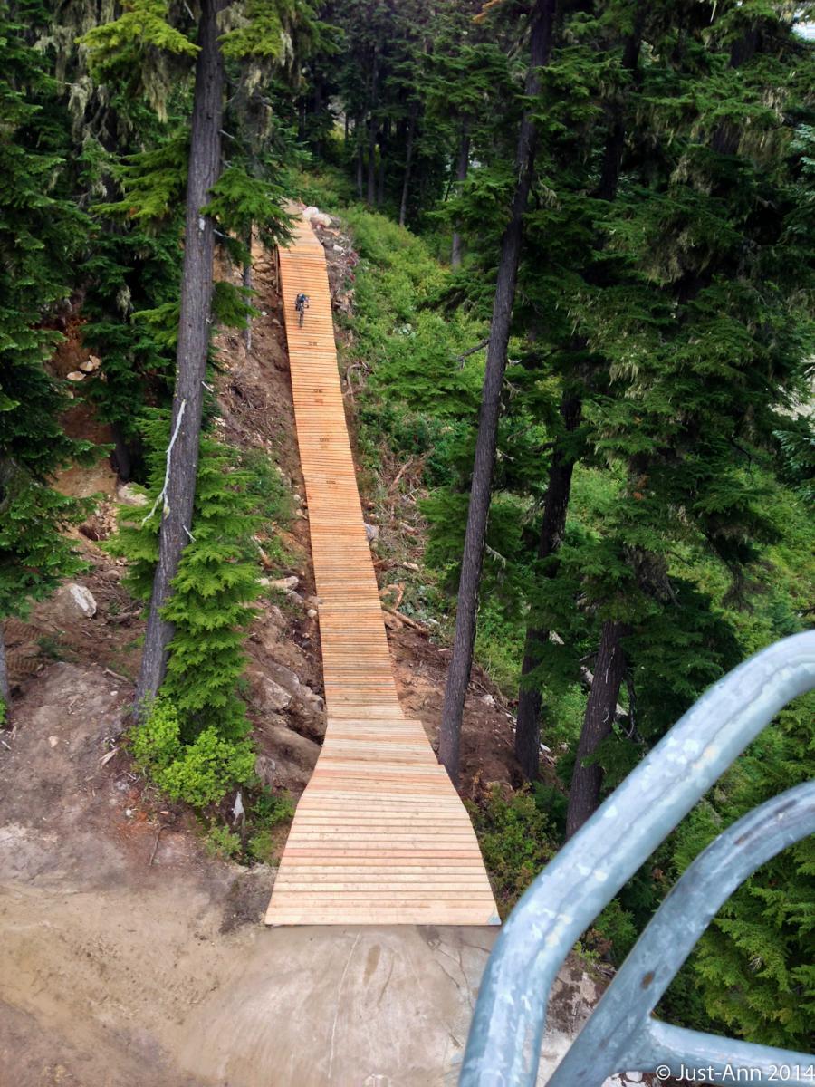 Stevens Pass Bike Park Mountain Bike Trail In Leavenworth