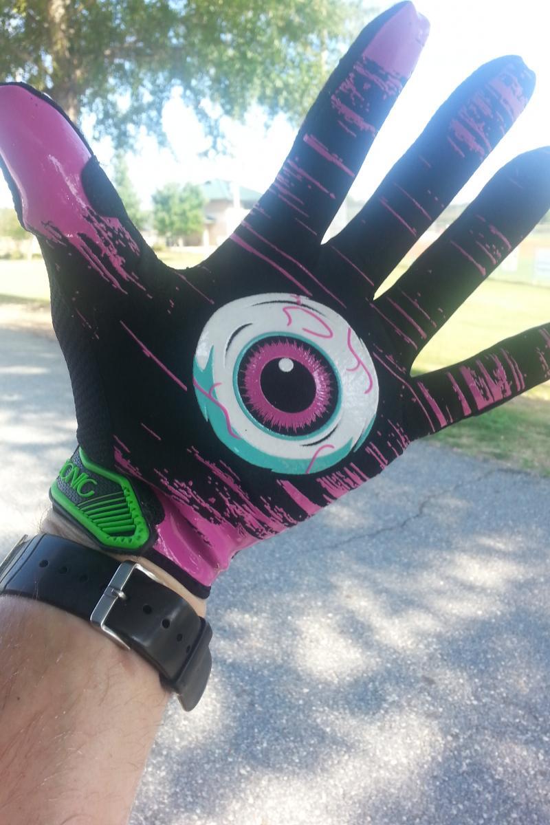Azonic Rhythm Slime Full Finger Glove