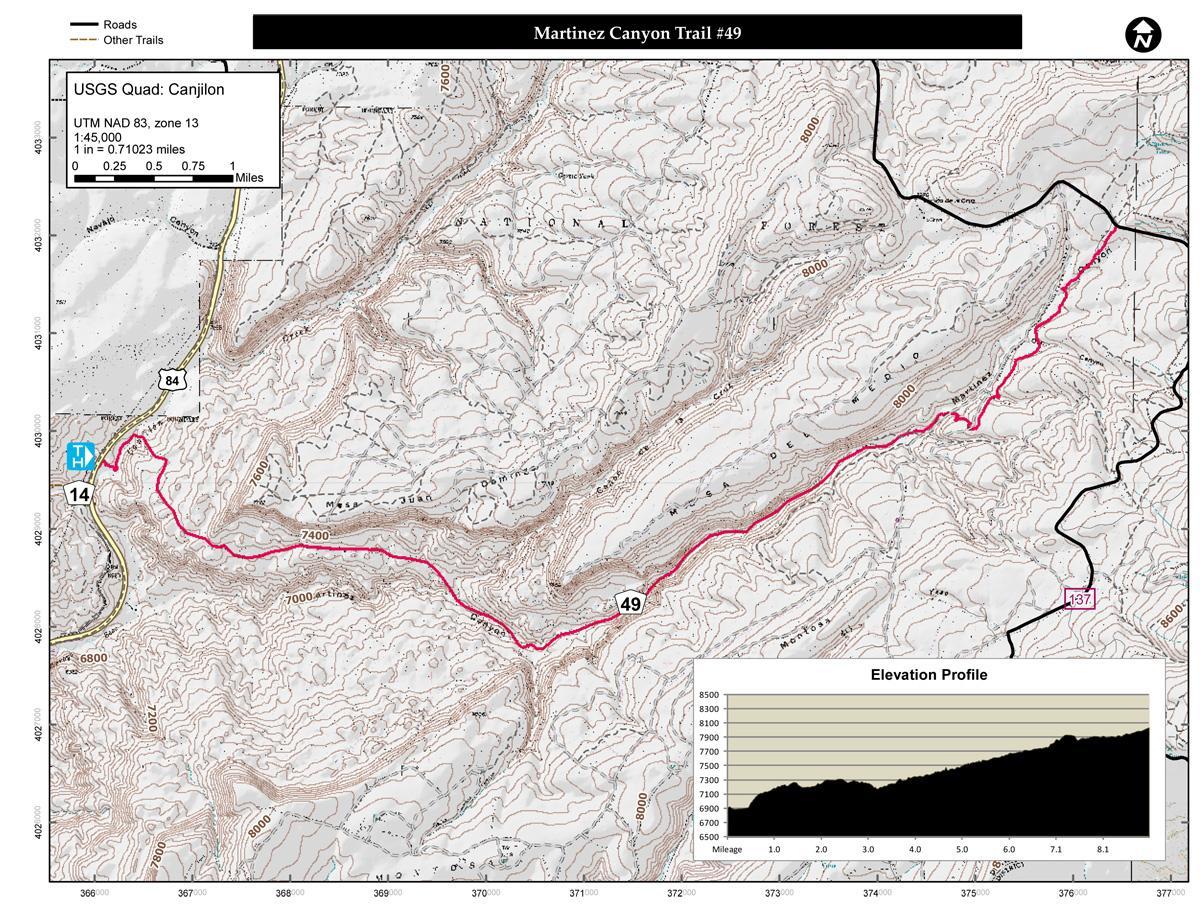 Martinez Canyon Trail #49