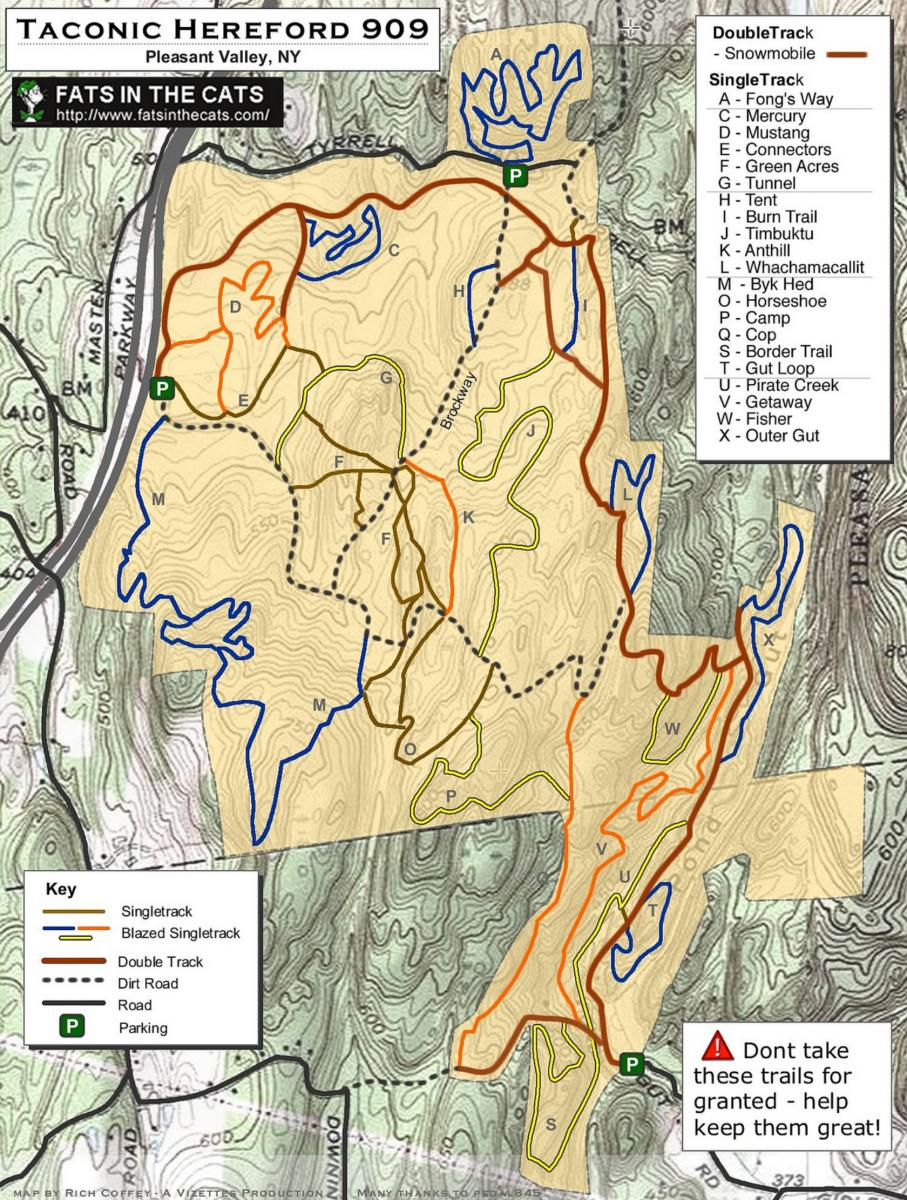 Taconic-hereford MTB Trail ...  sc 1 st  Singletracks.com & Taconic-hereford Mountain Bike Trail in Pleasant Valley New York ...