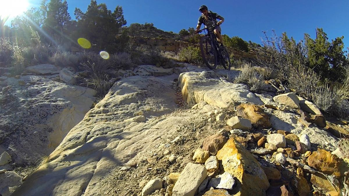 Upper Bench Cut Trail