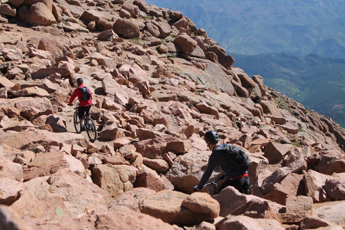 Barr Trail / Pikes Peak