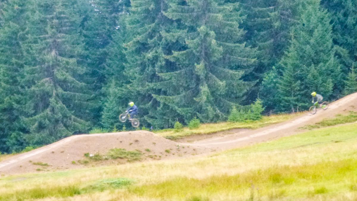 SuperMorzine Bike Park Mountain Bike Trail in Morzine France