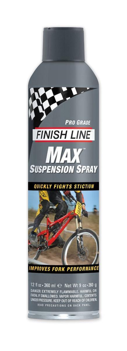 Finish Line Max Suspension Spray Lube Reviews Mountain