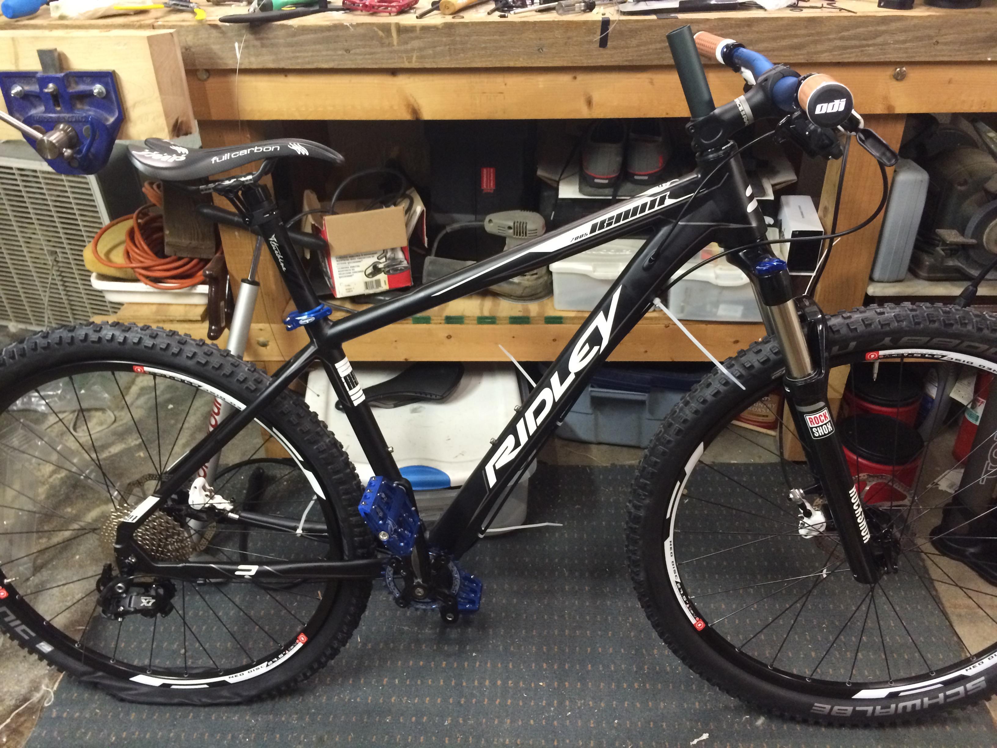 Ridley Ignite A7. My Bike