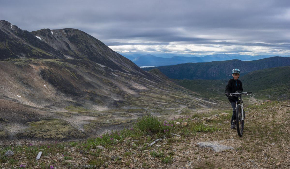 Atlin Mt SuperHero Trail