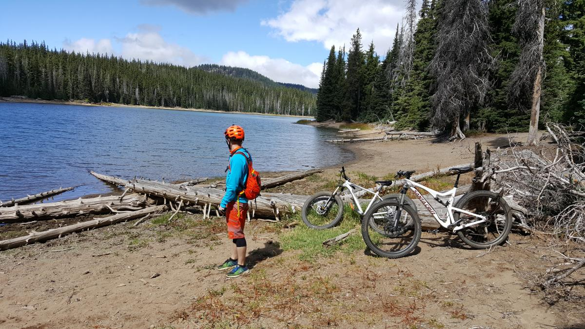 Sparks Lake/lava Lakes