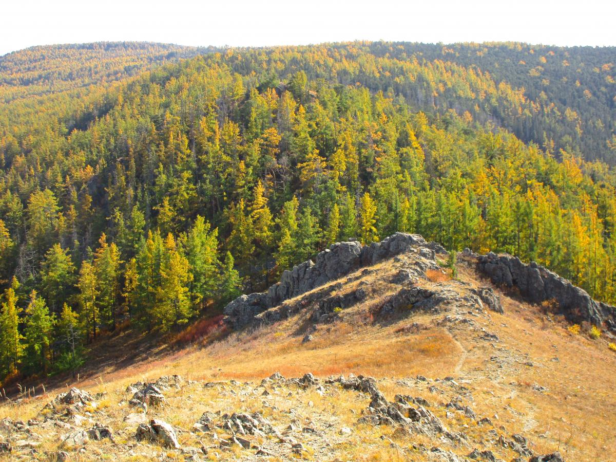 Zaisan Chutes Trail