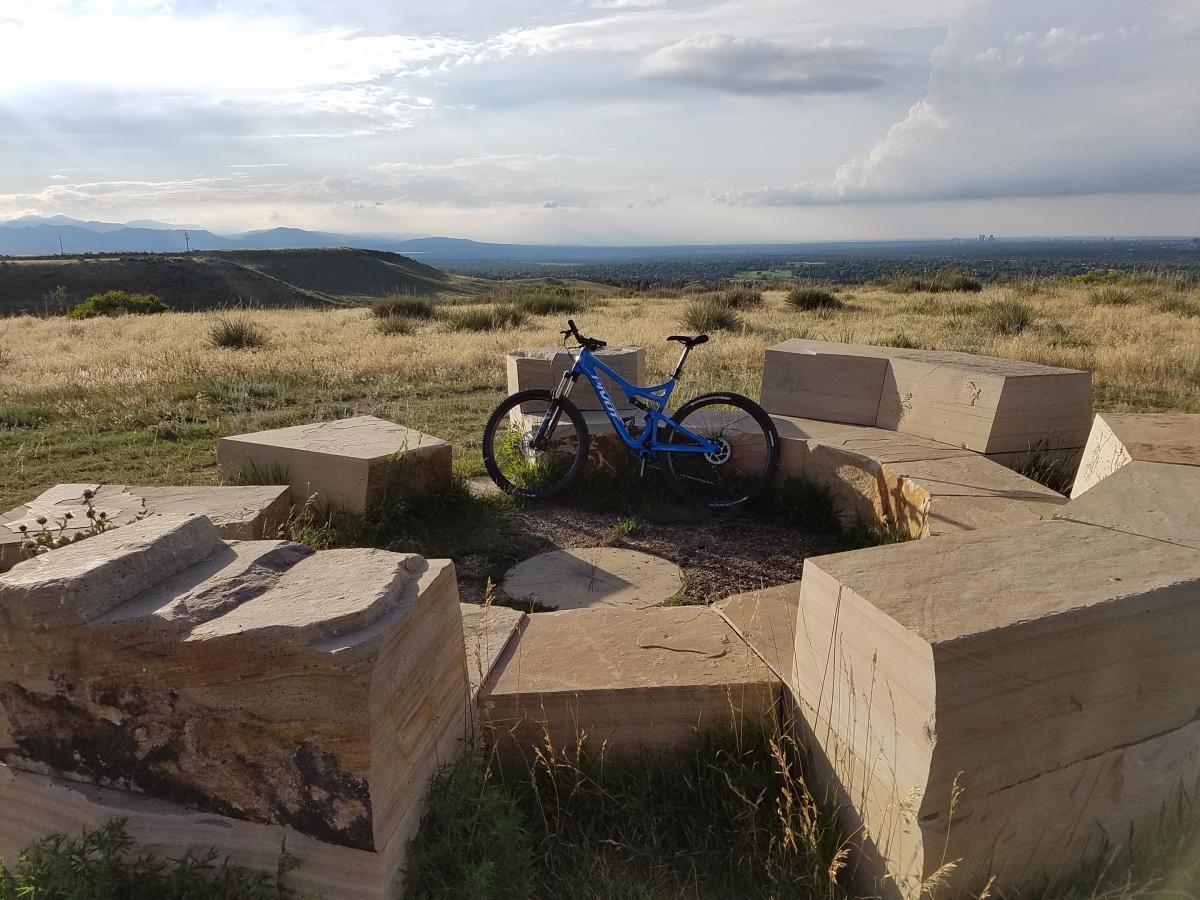 Bluffs Regional Park Trail