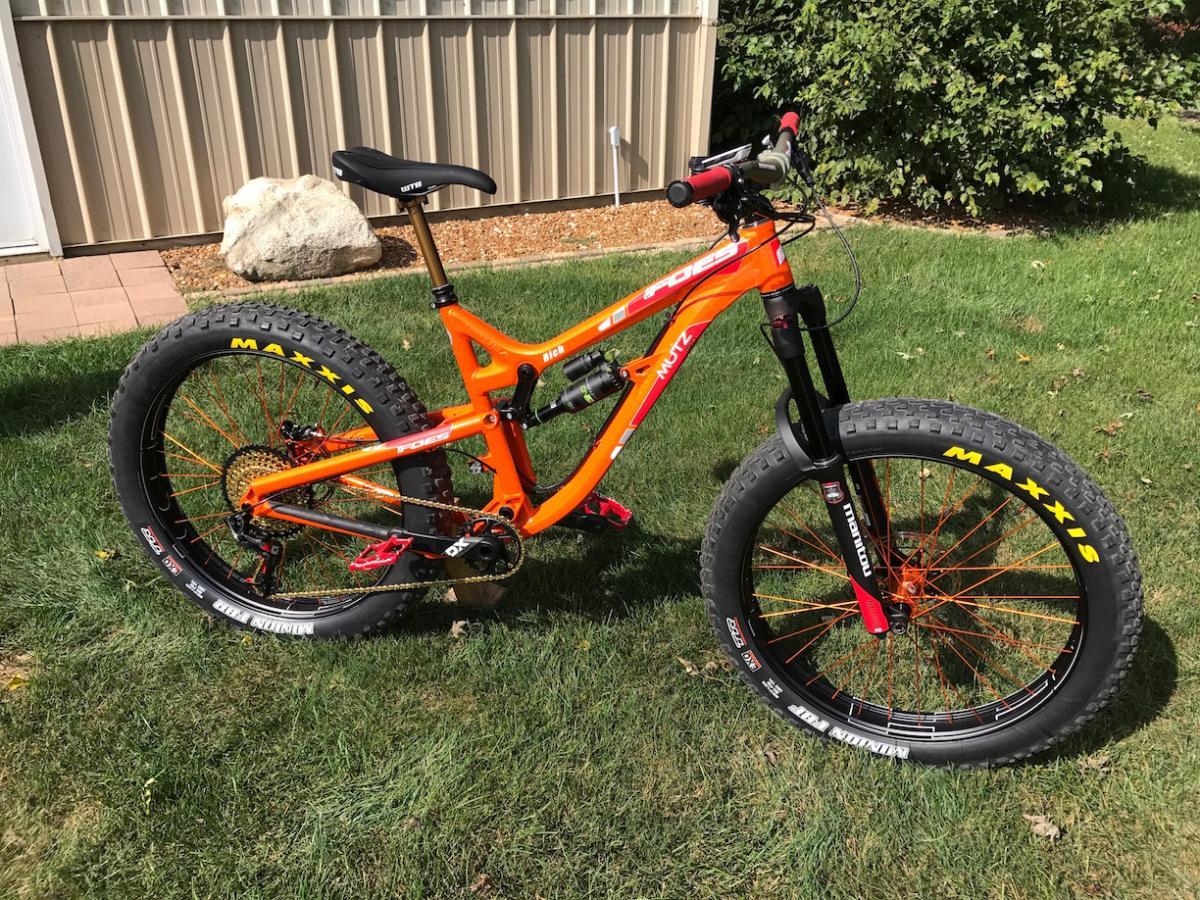 Foes Mutz 150 Fat Bike Reviews Mountain Bike Reviews