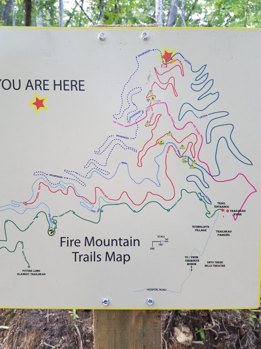 Fire Mountain Trail System