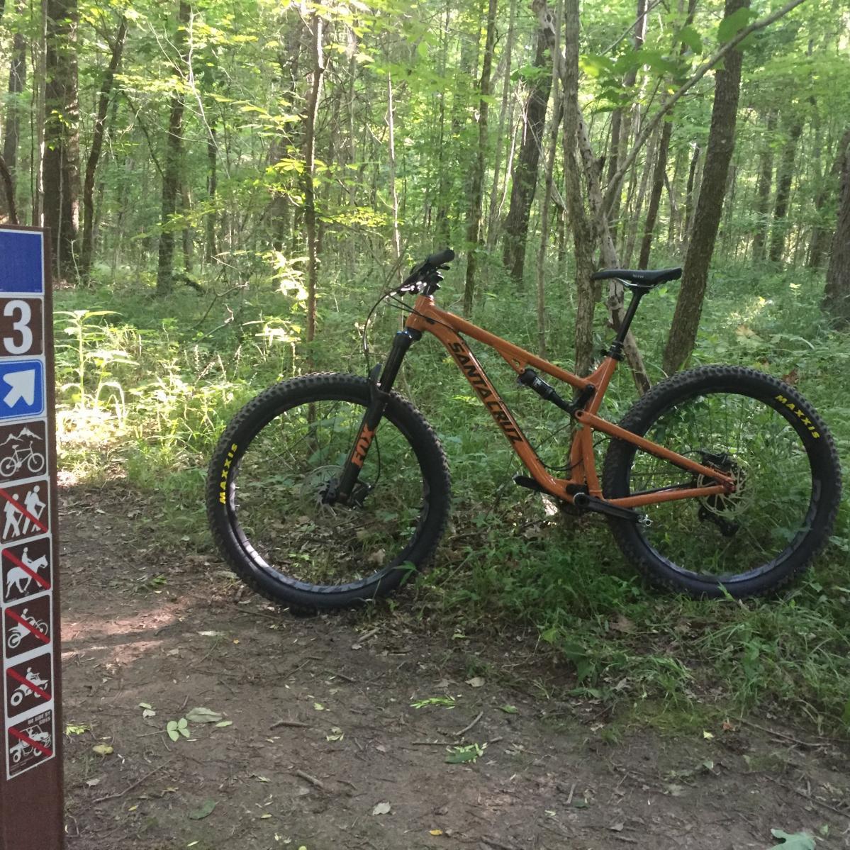 Cane Ridge Mountain Bike Trail In Antioch Tennessee Singletracks Com