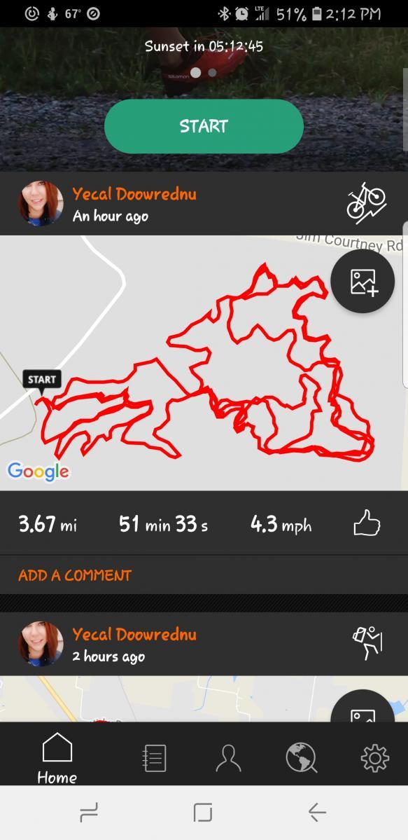 Portland Mountain Bike Trail