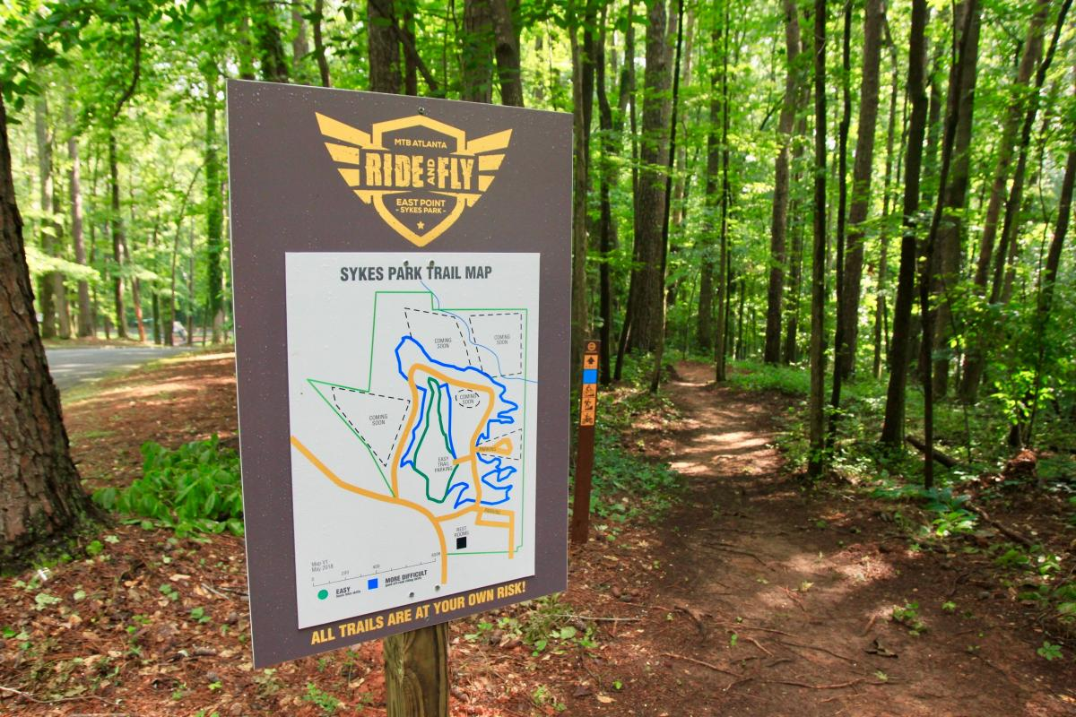 Ride and Fly: Sykes Park