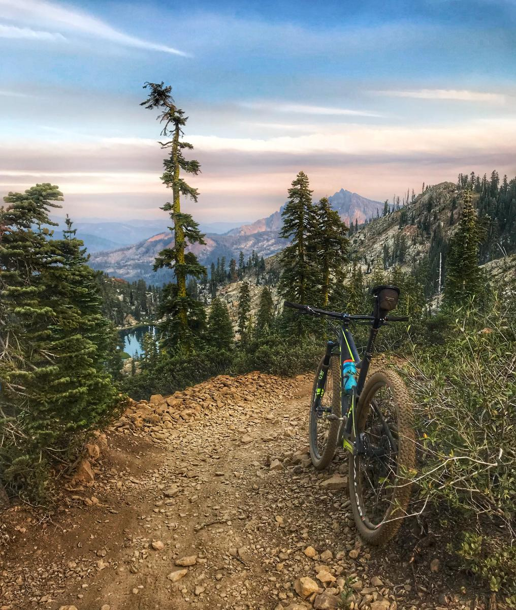 Downieville Downhill Mountain Bike Trail in Downieville, California on