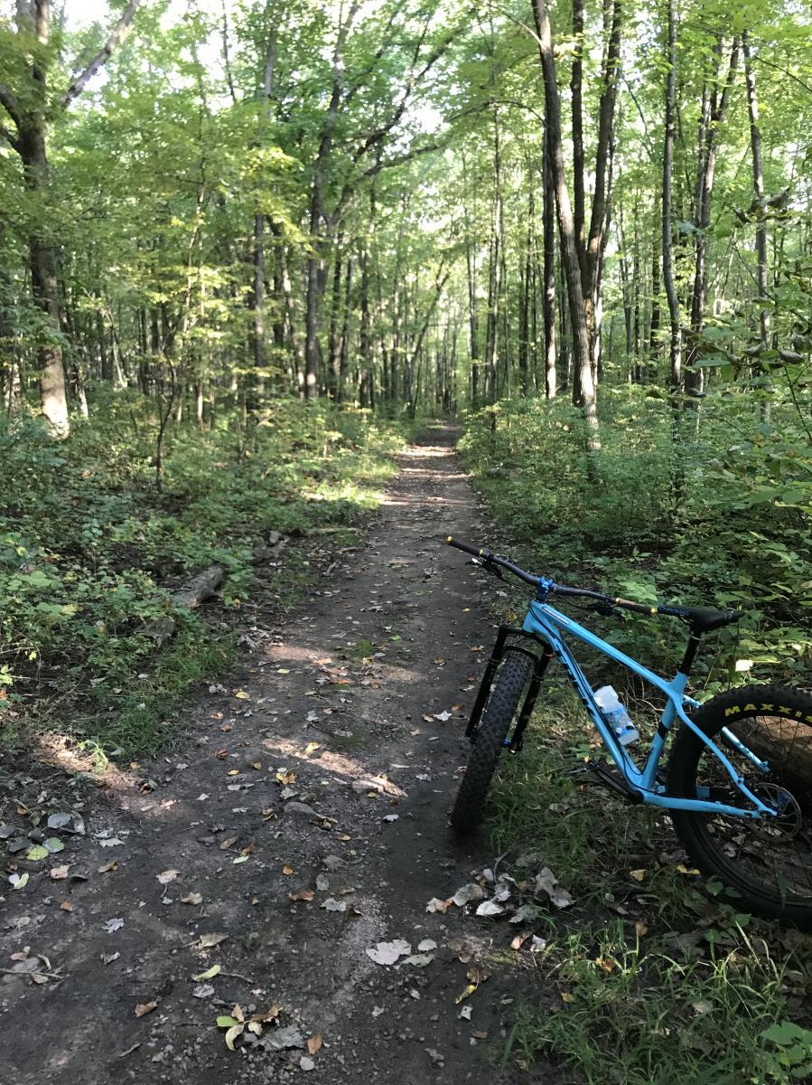 Devils Lake State Park Mountain Bike Trail In Baraboo