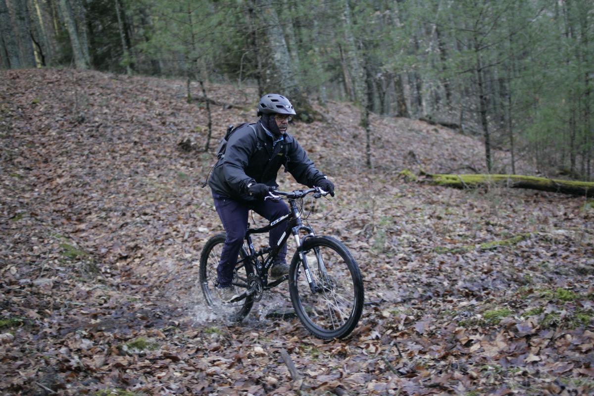 Matthews State Forest Trail