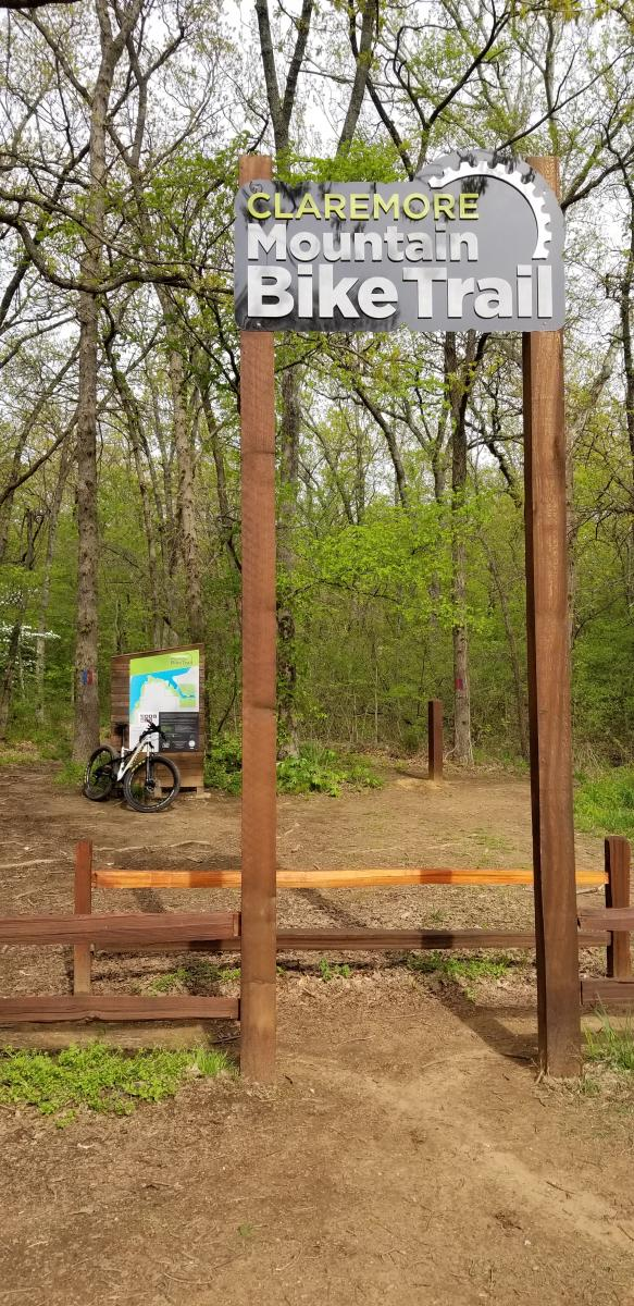 Claremore mountain bike trail