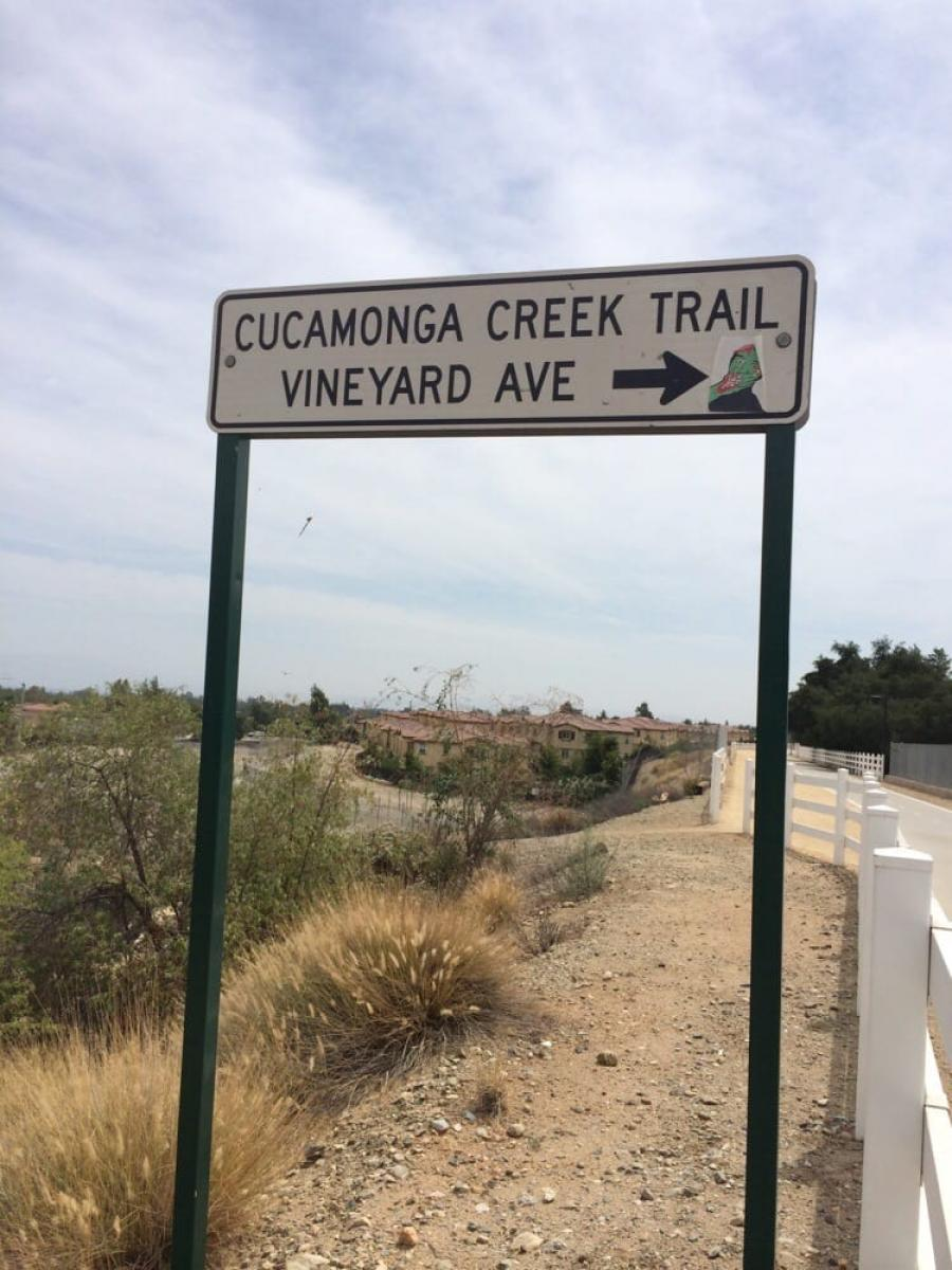 Cucamonga Creek Trail