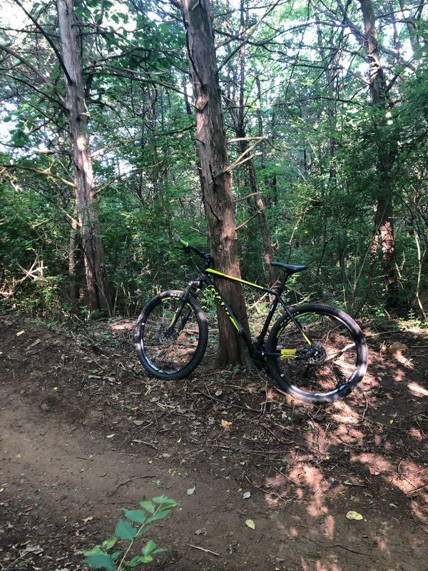 Cedar Hill Park Mountain Bike Trail in Nashville ...