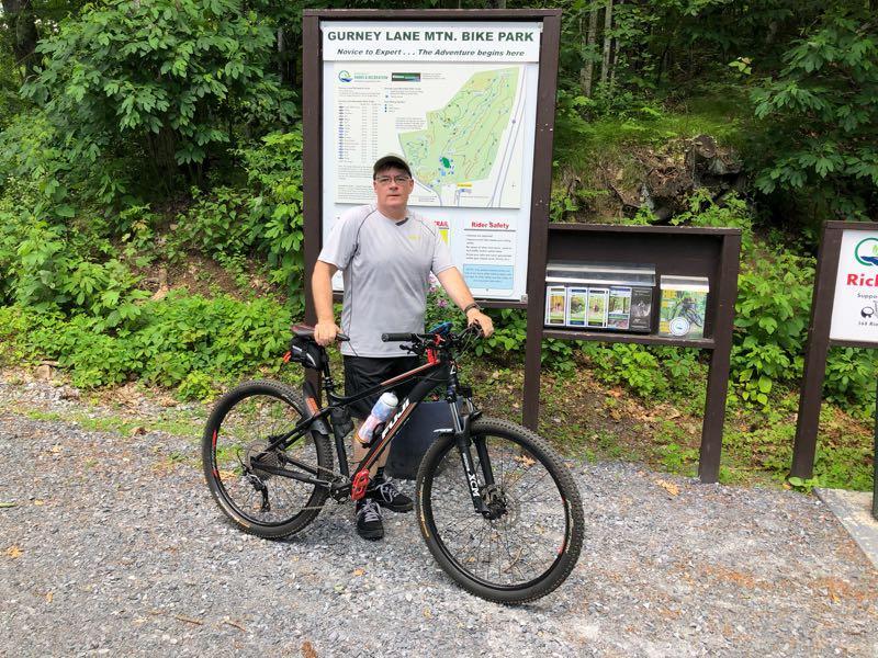 Gurney Lane Mountain Bike Trails