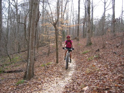 Lake Norman mountain bike trails