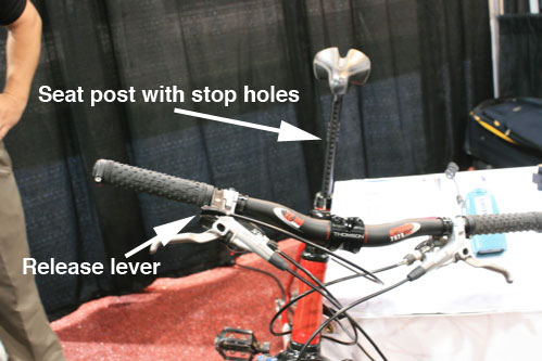 Remote Seat Height Adjustment Singletracks Mountain Bike