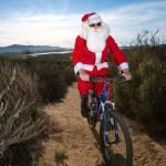 santa_biking