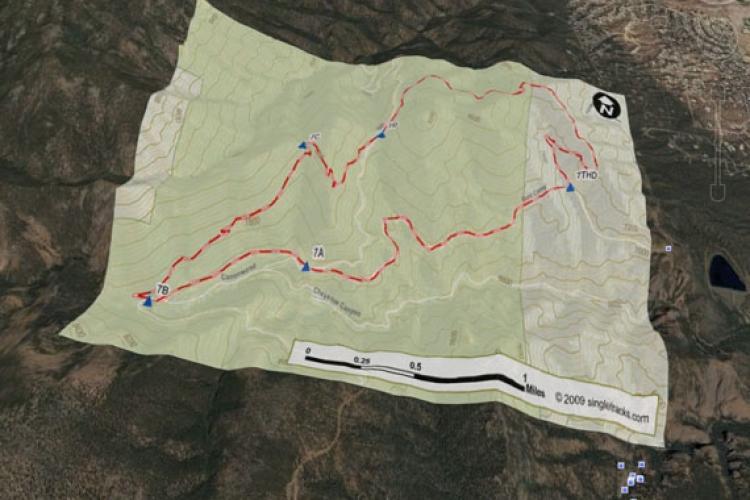 Enhanced Mountain Bike Trail Maps For GPS - Singletracks