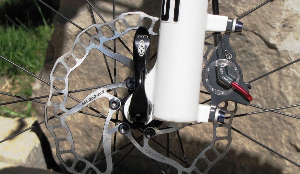 Best Brake Pads >> Ashima MTB Pancake Brake Preview - Singletracks Mountain ...