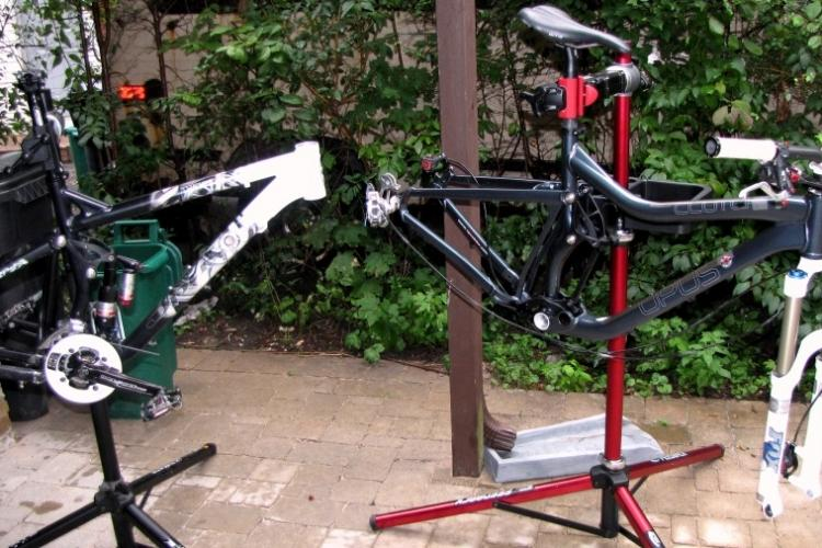 Powder Coating New Life For An Old Mtb Frame