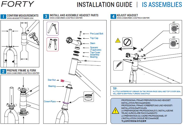 aheadset diagram cane creek 40 integrated headset review singletracks mountain  cane creek 40 integrated headset review