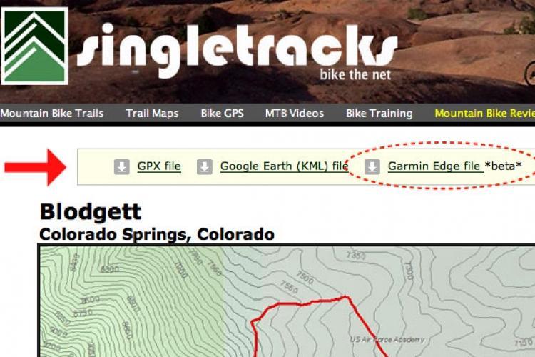 Garmin Edge 705 GPS Reviews Mountain Bike Reviews