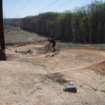 Pullin' Gs at Wakefield (Singletracks photo by Punishment)