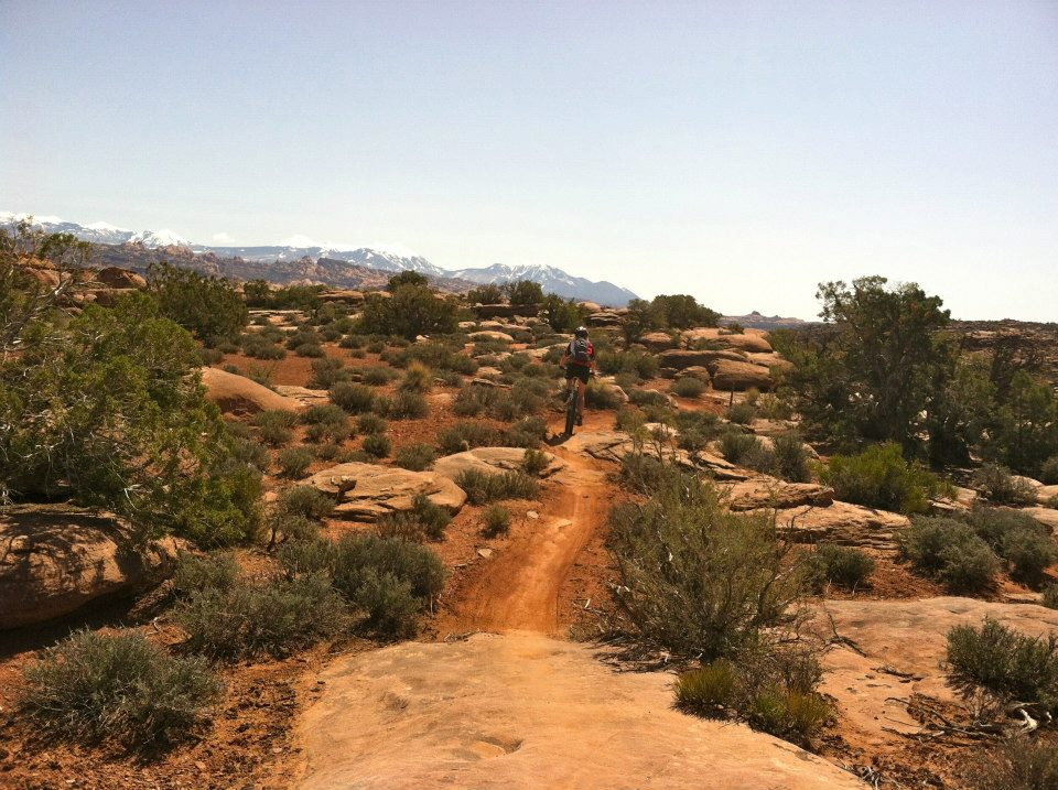 Clubs In Little Rock >> Moab's New Captain Ahab Trail - Singletracks Mountain Bike ...